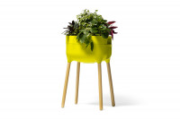 Raised Indoor Planter Urbalive green