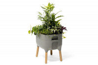 Low planter Urbalive - light anthracite