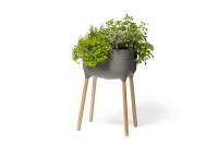 High planter Urbalive - light anthracite