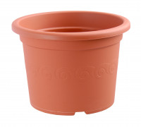 Flower pot Narcis terracotta