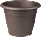 Flower pot Muskat brown