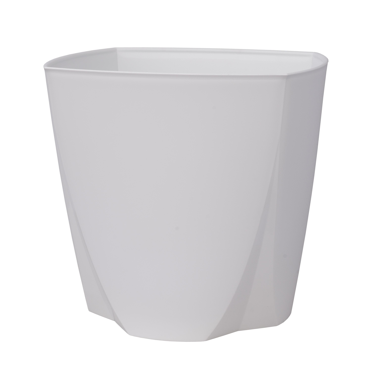 Flower Pot Camay White Plastia