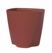Flower pot Camay wine red