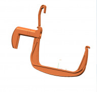 Holder SIESTA terracotta, 2 pcs.