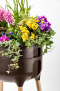 Raised Indoor Planter Urbalive brown