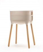 Raised Indoor Planter Urbalive beige