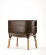 Low planter Urbalive - brown