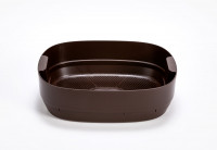 worm farm- composting tray - brown