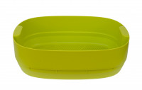 worm farm - composting tray - light green