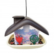 Bird feeder DOMEK -  brown