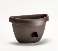 Wall planter Siesta brown