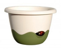 Flower pot Mareta beige green