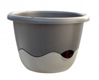 Flower pot Mareta grey