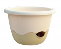 Flower pot Mareta beige