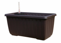 Flower box Siesta brown