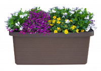 Large-volume planter Berberis Duo brown