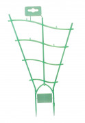 Trellis Curved green