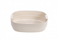 worm farm- composting tray - ivory