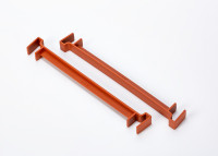Clip for flower box Berberis 60, 80 terracotta
