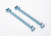 Clip for flower box Berberis 60, 80 gray-blue