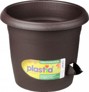 Flower pot Siesta brown